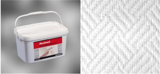 rednet fix 12kg glasfasertapete vliestapete 50 m2 ebay. Black Bedroom Furniture Sets. Home Design Ideas